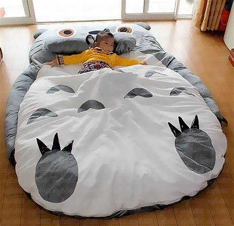 totoro bed comfortable soft totoro sleeping bed