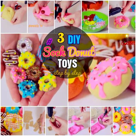 how to make toys diy sock plush toys 3 how to make sock donuts toys for purposes diy craft