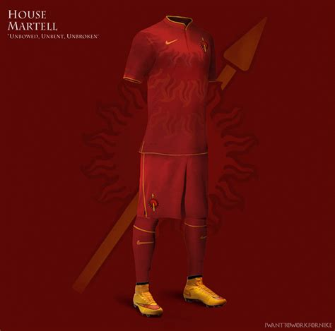 haus martell 9 kit designs for of thrones houses world soccer talk
