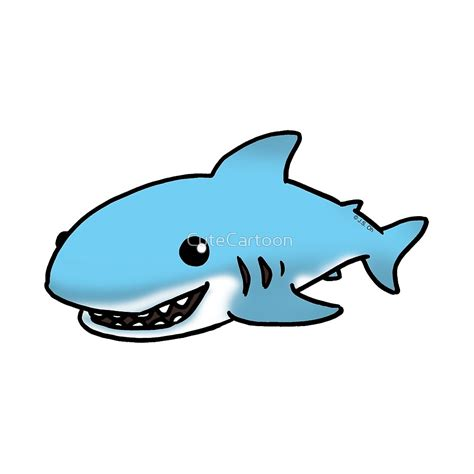 baby shark cartoon cute baby cartoon sharks