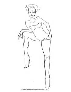 costume drawing template how to draw fashion fashion templates