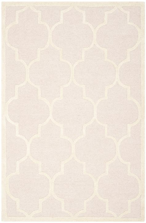 light pink wool rug safavieh cambridge light pink ivory wool contemporary