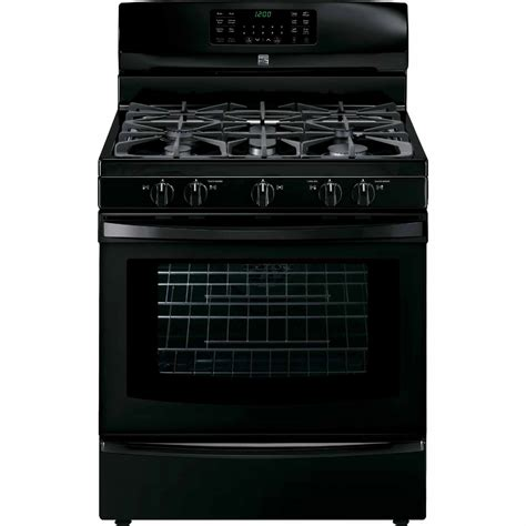 Kenmore Stove by Kenmore 74339 5 6 Cu Ft Gas Range W True Convection Black
