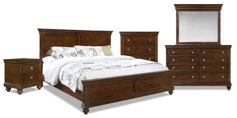 7 piece bedroom set bridgeport 7 piece king bedroom set the brick