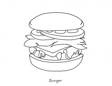 Coloring Page Food by Free Printable Food Coloring Pages For