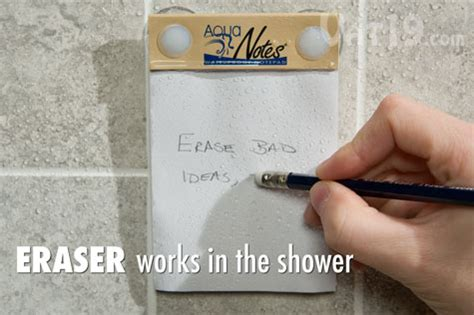 How To Make Paper Water Proof - aquanotes the waterproof notepad
