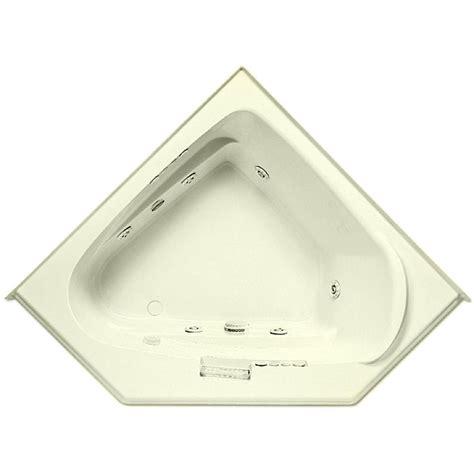 bathtub with heater aquatic morandi 60 in acrylic left front drain corner