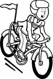 bike coloring pages free bike ride coloring pages