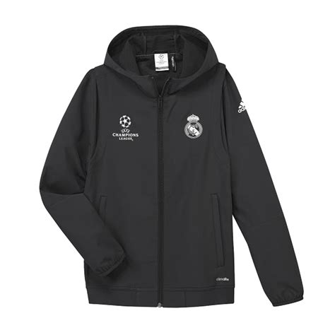 Jaket Real Madrid jacket real madrid ucl 2016 17 adidas styl foot