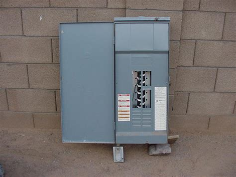 square d 200 outdoor electrical panel used ih8mud