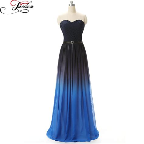prom dresses in colors red black blue prom aliexpress com buy jaeden black blue prom dresses