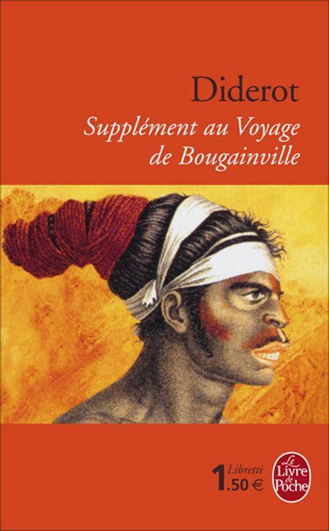 supplement au voyage de bougainville corrig 233 s de dissertations et de commentaires de texte