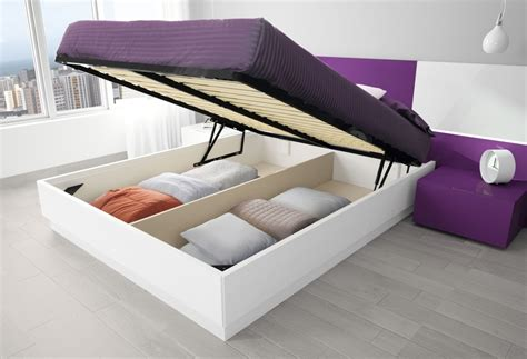 The Bed Storage by Ottoman Storage Bed