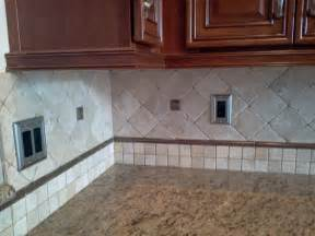 How To Tile A Backsplash In Kitchen Custom Kitchen Backsplash Countertop And Flooring Tile Installation