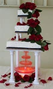 Wedding Planner Seattle Amazing Red Black And White Wedding Cakes 27 Pic Awesome Pictures
