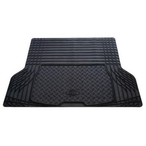 Large Boot Mat by Road Gear Rubber Trunk Mat Large Black 1410mm X 1090mm