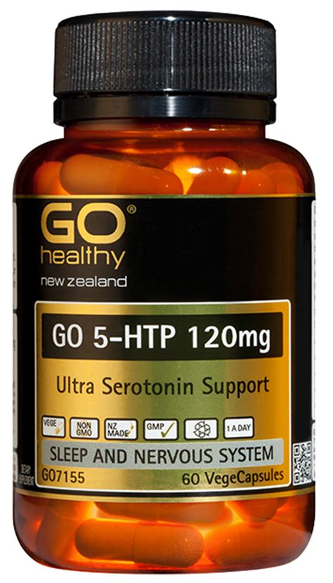 5 htp before bed 5 htp 120mg ultra serotonin support 60 caps proactive