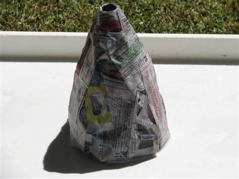 How Do You Make A Paper Mache Volcano - how to make a volcano learning 4