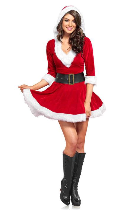 Dapatkan Special Dress Mrs White santa costume theme masquerade express