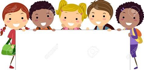 free childrens clipart child clipart banner pencil and in color child clipart