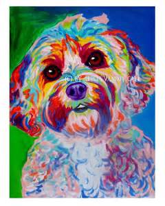 cockapoo pet portrait dawgart dog art pet portrait artist