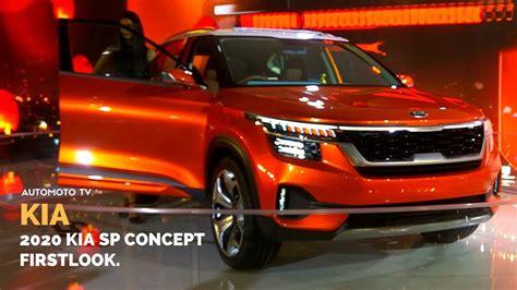 Kia New Models 2020 by 2020 Kia Sp Concept India Auto Expo 2018