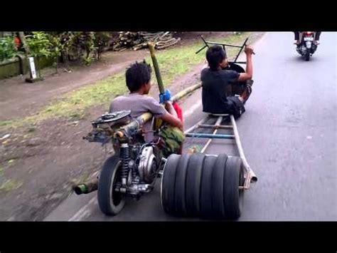 modifikasi vespa jadi gokart sepeda modif mesin doovi