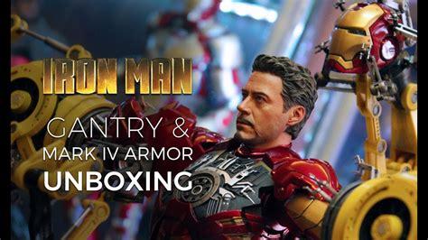 hot toys iron man suit gantry mark iv unboxing