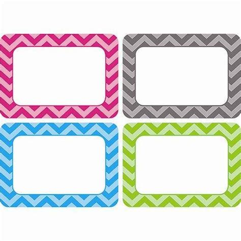 printable name tags for lockers chevron name tags labels multi pack tcr5526 these 3