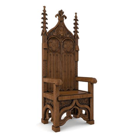 throne  model cgtrader