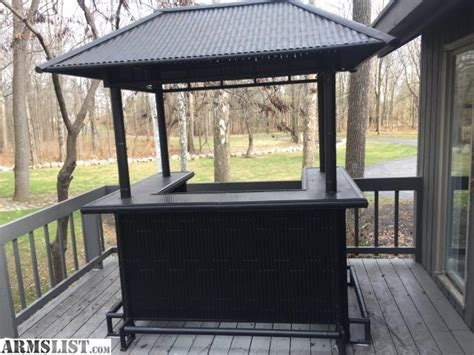 Backyard Bars For Sale by Armslist For Sale Tiki Bar With Chairs