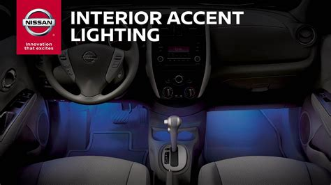 nissan cube interior accessories interior accent lighting genuine nissan accessories