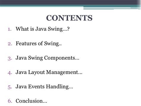 no layout manager java java swing