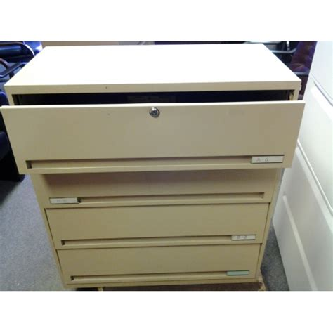 beige 4 drawer card cabinet 8 quot drawers tool machinist