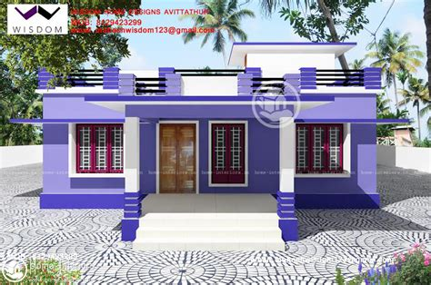 simple home design kerala 1250 sq ft beautiful simple home design