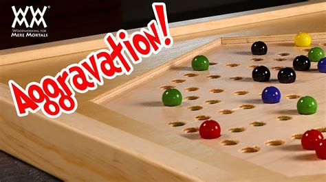 aggravation board game woodworking project youtube