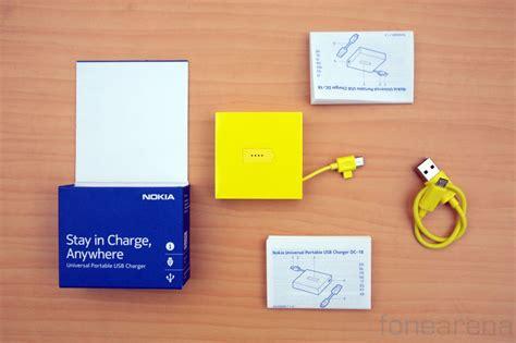 Nokia Universal Portable Usb Charger Dc 18 nokia dc 18 universal portable charger unboxing best