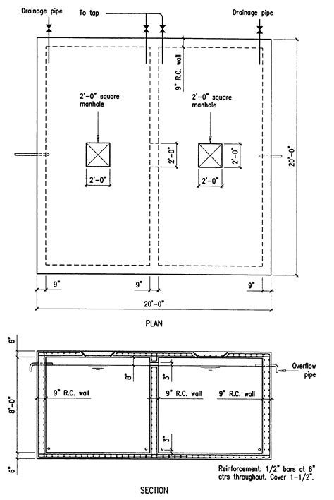 section f building guidelines drawings section f plumbing