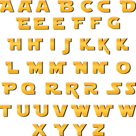 printable star wars alphabet star wars deco letters