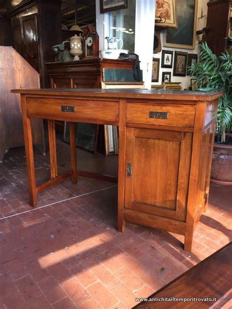 scrivania anni 30 antichit 224 il tempo ritrovato antiquariato e restauro