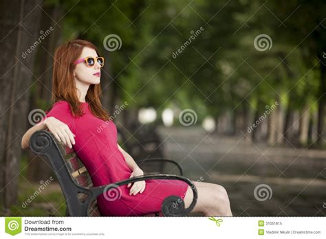 girl benches 225 girl on the bench royalty free stock photo image 31051815