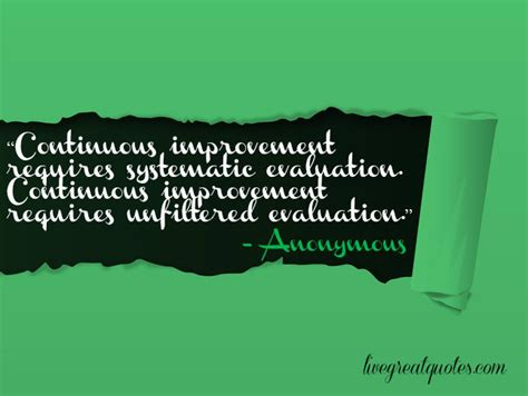 quotes on improvement process improvement quotes and sayings quotesgram