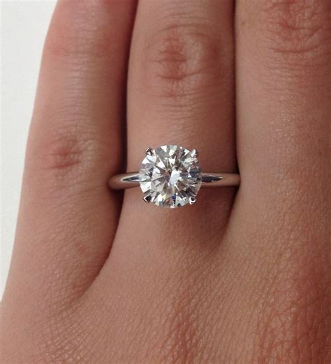 17 best ideas about plain engagement rings on