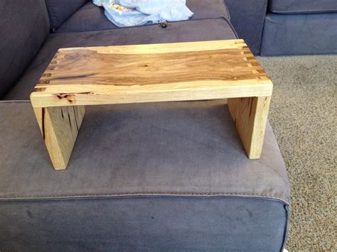 sofa armrest table sofa arm table by jasonjenkins lumberjocks com