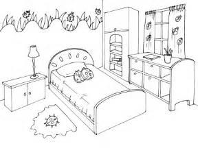 coloriage chambre 11 coloriage chambre coloriage
