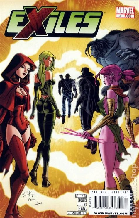 exiles books exiles 2009 2nd series marvel comic books