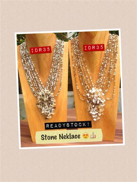 Kalung Fashion Cantik kalung cantik bali perhiasan kalung untuk wanita sindyyshop toko menjual perhiasan