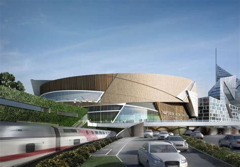 Top Architecture Firms tampere central deck and arena by daniel libeskind