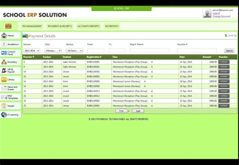 Section 8 Payment Standard 2014 by Account Fee Section School Management Software