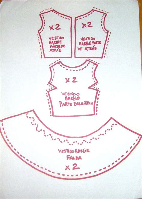doll clothes pattern tutorial doll tutorial patrones para vestido barbie proyectos